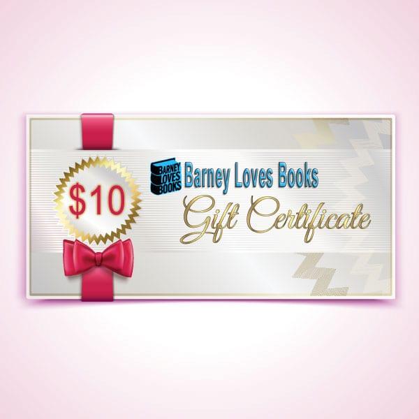 Barney Loves Books Gift Certificate - $10