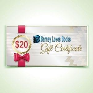 Barney Loves Books Gift Certificate - $20
