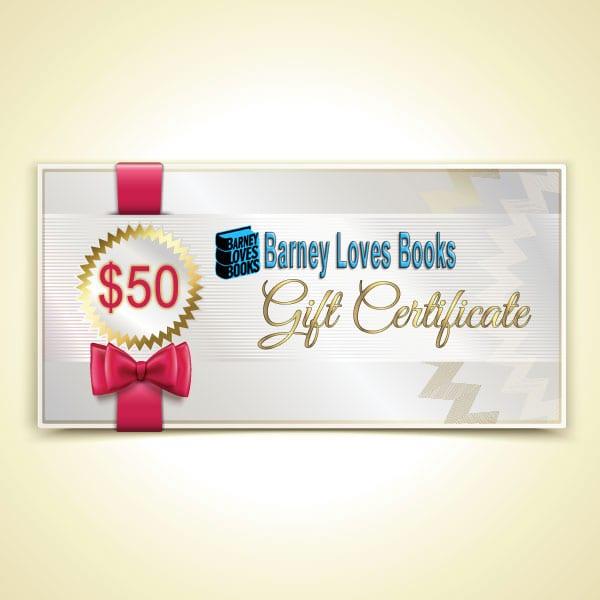 Barney Loves Books Gift Certificate - $50